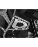 Kryt pro originál BMW R1200GS Adventure ochranný rám od r.2014, stříbrná.