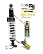 Touratech suspension shock for BMW F800GS Adventure from 2014 Type: Plug & Travel for BMW ESA