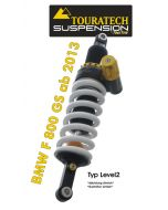 Touratech Suspension shock absorber for BMW F800GS from 2013 type Level2/ExploreHP