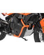 Tank crash bar stainless steel, orange for KTM 890 Adventure/ 890 Adventure R/ 790 Adventure/ 790 Adventure R