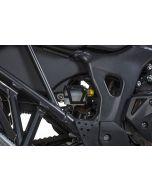Rear brake fluid reservoir guard, black for Honda CRF1000L Africa Twin (2018-)/ CRF1000L Adventure Sports