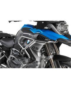 Rozšíření padacích rámů na  BMW R1250GS nerezová ocel