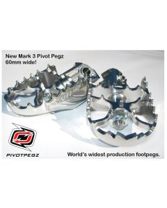 Sklopné stupačky PivotPegz - Mark 3 pro BMW R1200GS / Adventure 2005-2012