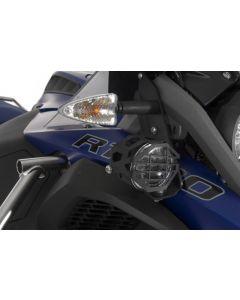 Přídavné LED světlomety, černé, pro BMW R1200GS Adventure od roku 2014 a R1250GS Adventure