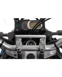 Vestavný adaptér (hrazda) pro GPS s montáží na řídítka pro Yamaha XT1200Z Super Tenere Vestavný adaptér / držák GPS / držák přístroje navigace