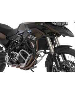 Rozšíření hlavního padacího rámu - nerez ocel v černé anodizaci, BMW F700GS, F800GS od r.v. 2013
