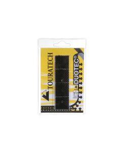 Duotec ® Extra silné upínací čtverečky suchých zipů, 4 kusy, 25 mm x 25 mm, samolepící