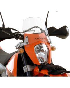 Větrný štít pro KTM 690 Enduro a KTM 690 Enduro R (od 2012)