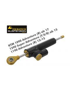"""Tlumič řízení Touratech """"CSC"""" pro KTM 1190 Adventure/R od roku 2013, včetně montážní sady"""