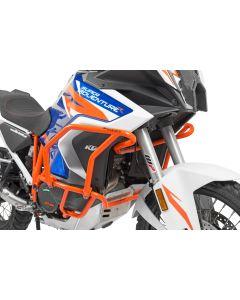 Crash bar extension orange for KTM 1290 Super Adventure S / R (2021-)