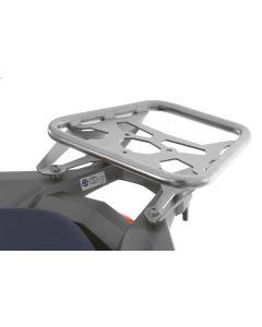 Nosič ZEGA Pro Topcase pro Honda CRF1000L Africa Twin, elektrochemicky leštěná nerez ocel