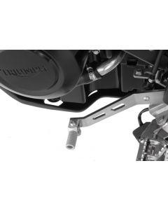 Řadící páka z nerezové oceli, sklopná pro Triumph Tiger 800