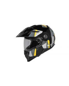 Vyklápěcí helmaTouratech Aventuro Mod, provedení matná černá, ECE homologace