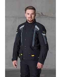 Compañero World2, bunda pánská, prodloužená délka, černá