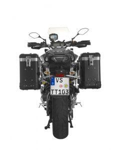 ZEGA Pro2 aluminium pannier system for Yamaha MT-09 Tracer (2015-2017)