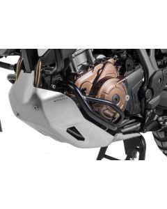 Ochranný rám motoru, černá nerez ocel, Honda CRF1000L Africa Twin verze pro DCT