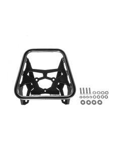 Nosič ZEGA Pro Topcase pro Honda CRF1000L Africa Twin, nerez ocel - černé provedení