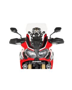Plexi, M, čiré, pro Honda CRF1000L Africa Twin/ CRF1000L Adventure Sports